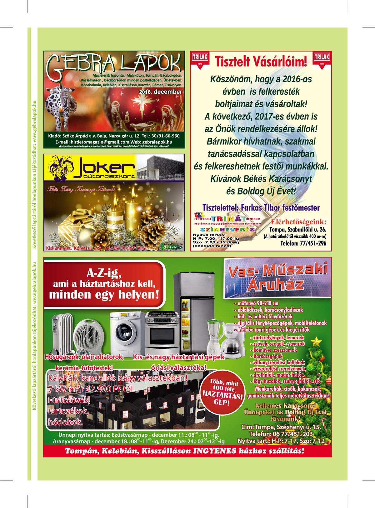 Hirdető Magazin Baja 49d7c4f981